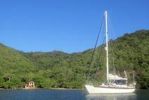 Island Life on a Sailboat