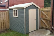 Whitethorn Bespoke Sheds / A collection of many different garden sheds of all shapes and sizes
