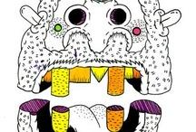 illustration / by Bárbara Alves