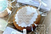 Cookies Battesimo / www.torteamorefantasia.com