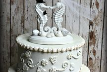 Wedding Cake Toppers / Capture the essence of your destination wedding with these unique wedding cake toppers.