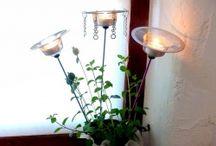 lamparas para macetas