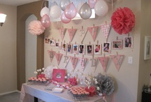 Baby girl birthday ideas / by Emily Hartvigsen