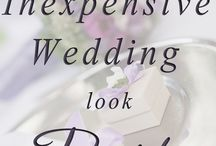 The Wedding Budget / Tips to manage your wedding budget and budget friendly wedding ideas.