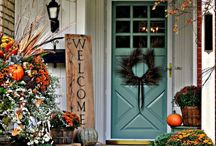 Fall Front Porch-Scaping