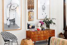 Minimal BoHo Rooms