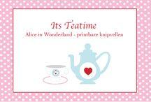 Alice in Wonderland feestje ♥