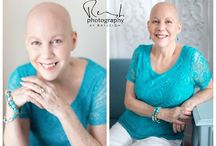 Bald Is Beautiful / Once I month, I have the pleasure of working with Breast Friends of Oregon to photograph 2-3 lovely ladies who have lost their hair due to cancer treatments. Many of them haven't felt beautiful in a long time and I want to give them a day of pampering and fun and beauty.