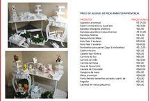 Aluguel de Mobiliário Festa Provençal