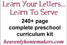 Homeschool - Preschool / by Chris Clark