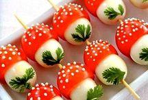 Еда / Вкусные рецепты и украшения блюд