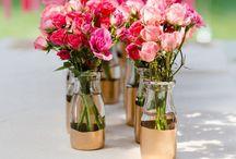 Hochzeit - Farbkonzept pink