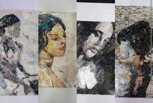 """Collage Art. / El collage - una técnica artística basada en el ensambalje de lenguajes gráficos de distintas naturalezas - fue aceptado históricamente como lenguaje artístico gracias al uso profuso que de él hicieron los pintores cubistas, como Braque o Picasso (quienes, de hecho, se disputan su """"invención"""")."""