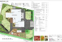 Pihasuunnitelmia - Landscape plans / Tekemiämme pihasuunnitelmia - Landscape plans we've made.