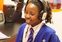 LIVE and ON AIR / A school library is so much more than a place for books - we are designing multi media spaces for schools that motivate and inspire.  Recording studios are much in demand - so LIVE and ON AIR is becoming part of our repertoire!