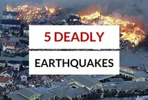 Recent Earthquakes / There are several earthquakes that occur everywhere in the world every single day. Check out the recent earthquakes. Some of them are pretty deadly and devastating.