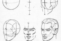 Referência: Exercícios de Desenho / Reference: Drawing Exercises