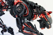 Cybork , zırh - robot