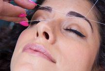 Threading - Eyebrow / Facial Hair Removal / Threading technique to shape eyebrow definition and remove facial hair.Upper and Lower Lip threading.