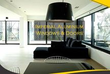 Imperial Aluminium Windows / Imperial Windows offers a wide range of visually impressive and strong aluminium window designs and configurations to suit any style of home.