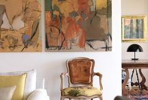 Antique with mondern/eclectic decor