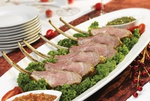 Lamb Holiday Recipes / Lamb is a staple meal during the holiday season.  Find some incredible recipes from traditional holiday lamb to a new tasty twist on our favorite protein.  / by American Lamb Board