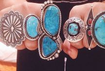 Turquoise and corall