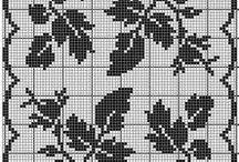 ruusukuvioita