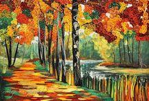 Quilling nature art