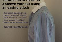 how to-sleeves and shoulders / by maresea