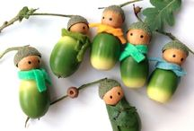 DIY : how to make these cute acorn dolls