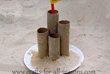 Preschool Crafts--Beach and Sea life / by Debbie Eudy