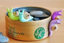 Polymer Clay: Snail