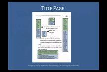 Purdue Owl: APA formating - the basics