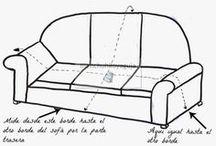 como medir tela para sofa