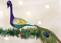 Christmas ornaments: Birds