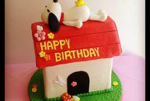 Tortas / Snoopy cake