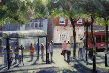 Ruth Gray Buildings / Paintings by Ruth Gray Derbyshire Artist