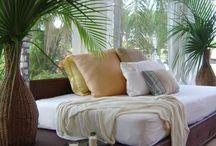 Tropical bedrooms