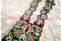 Create Beautiful Beads / Beadwork by CREATE BEAUTIFUL BEADS, and other inspirational pieces!  https://www.facebook.com/?ref=logo#!/pages/Create-Beautiful-Beads/126473660749699 / by Mallory Knox