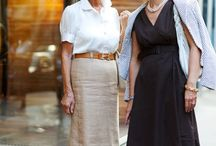 Stylish fifty plus summer outfits