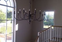 Chandeliers / Beautiful chandeliers locally made in SA..