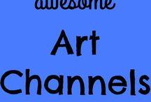 art channels utube