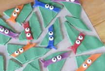 Kids Treats - Movie & Cartoon Related / Looking for some fun movie and cartoon inspired treats for kids? This board is the place to be!