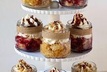 Mason Jars(Desserts )