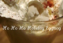 Eggnog! / EGGNOG AND ALL RECIPES USING EGGNOG