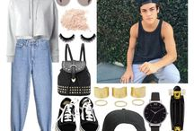 Polyvore outfits - Youtubers