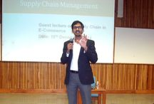 #Lecture on #SCM & #ECommerce @ #PDPU by Alvis Lazarus / By Alvis Lazarus -  #GuestLecture on Supply Chain Management and #ECommerce Supply chain at School of Petroleum Management, #PDPU.    PDPU's Chairman is Dr.Mukesh Ambani.   It was a pleasure meeting the PDPU Director Dr. Hemant C. Trivedi and the heads of all departments. It was a great day of knowledge share and had a great time with the management students.   -#AlvisLazarus