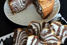 zebra chiffon cake