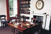 Famous #Writers' Offices / It's fun to snoop on writers and see where they work.  I envy some of these offices.